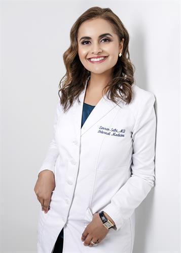 Renew MD Medical Director, Simran Sethi MD, MBA