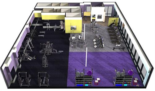 3D Full Gym Overview