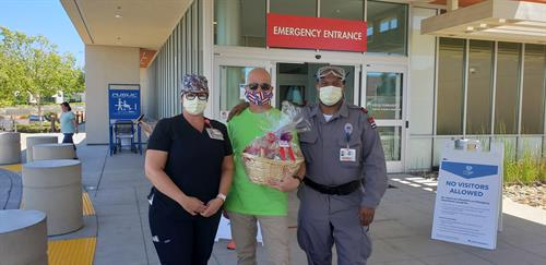 Kaiser Hospital Frontline Workers Donation