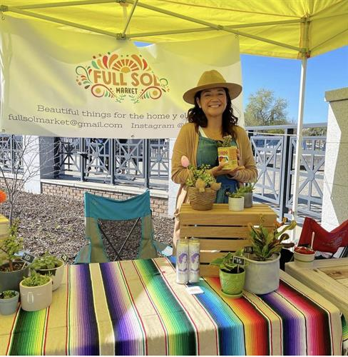 Full Sol is at the Farmers Market every Saturday!
