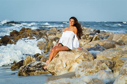Senior pictures vacation beach portraits orange beach al