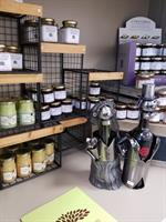 Our gift shop offers a wide variety of gourmet delights!