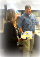 our agents Carley and Brian - happy birthday Brian!