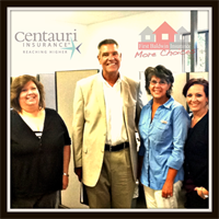 our agents, Charlotte, Traci, and Michelle with Centauir company representative