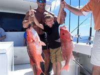 Experience the Gulf - ask about our free Deep Sea Fishing Excursion!