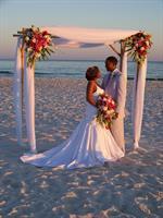 Fabulous sunset ceremony!
