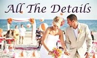 One of our beautiful upscale beach weddings!