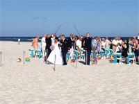 Military Beach Wedding! Thank you for YOUR Service!!!