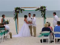 Beautiful Destination beach wedding, Orange Beach, AL