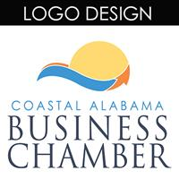 This logo was designed for the Coastal Alabama Business Chamber
