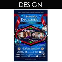 How about posters and flyers for your business or special event? (DPP designed and printed these)