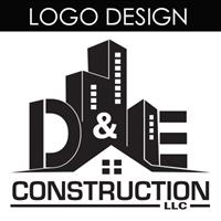 This logo was designed for D&E Construction