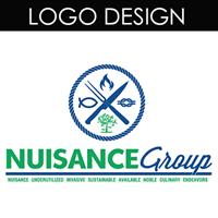 This logo was designed for the NUISANCE GROUP