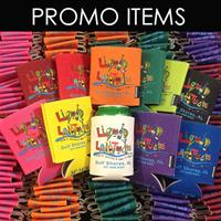 Over 100,00 Promotional Items like koozies (the most popular promo giveaway)