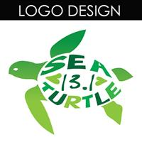 This logo was designed for the Sea Turtle Half Marathon