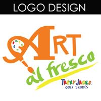 This logo was designed for Tacky Jacks Art al Fresco