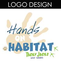 This logo was designed for Tacky Jacks Hands on Habitat
