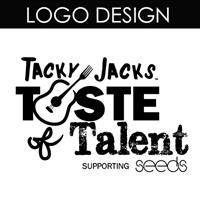 This logo was designed for Tacky Jacks Taste of Talent