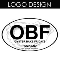 This logo was designed for Tacky Jacks Oyster Bake Fridays