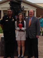Fairhope High Red Ribbon Week Kickoff 2013