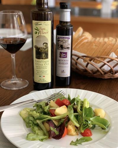 Make your own healthy Italian Salad Dressing