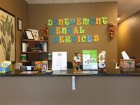 Our Reception Desk at Dentremont Dental