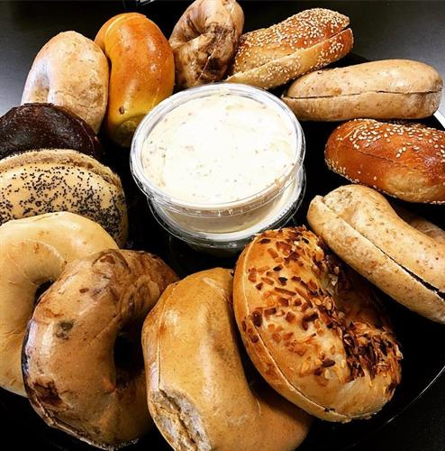 Assorted Bagel Tray