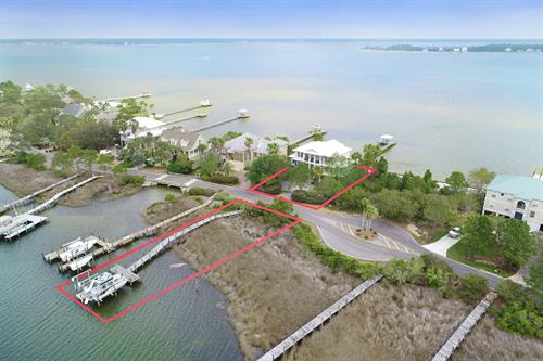 Example of Drone Photo with property lines added.