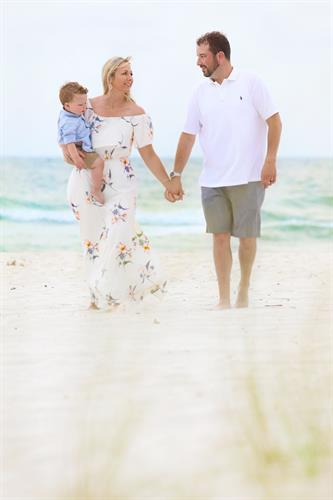 Family Beach Portrait sessions are our other favorite passion.