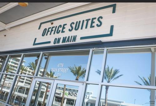 Outside entrance ~ Office Suites On Main at The Wharf, L-211C