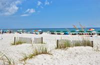 Beach access point for Moonraker Guests, Gulf Shores