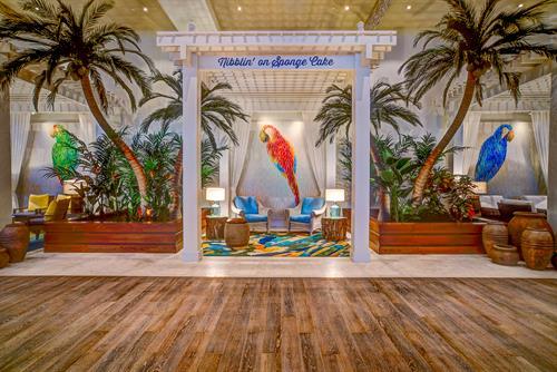 Lobby Cabanas