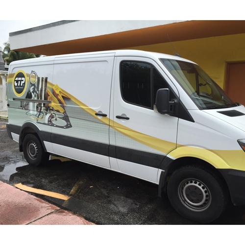 CPT Parts Van Wrap