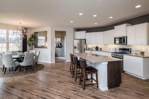 Open floorplan designs