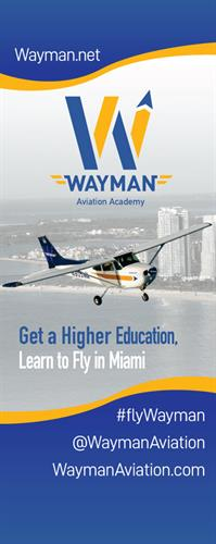 Wayman Aviation Banner