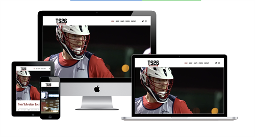 Websites for Professional Athletes