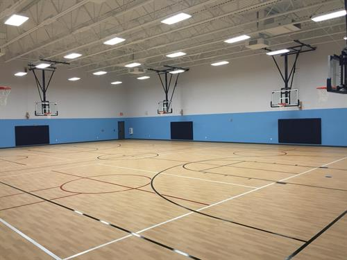 Gymnasium - basketball, volleyball, soccer, and pickleball available!