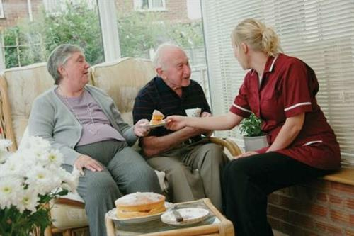 We make sure our elderly families live at their comfort.