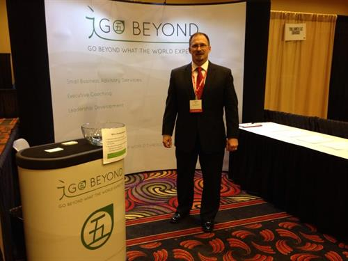 Introducing Go Beyond to veteran entrepreneurs at the VETS 14 conference