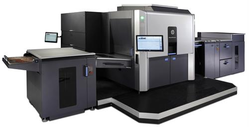 HP Indigo 12000 - the most technologically  advanced press in the world.