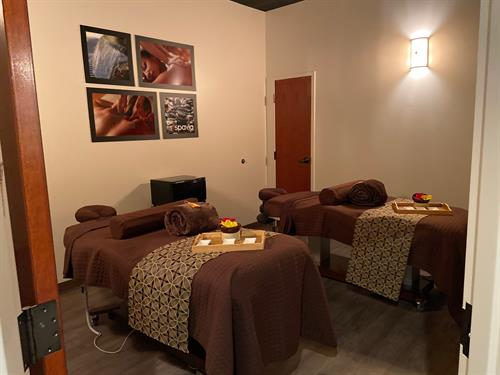 Well know for our couple's signature massages and body wraps.