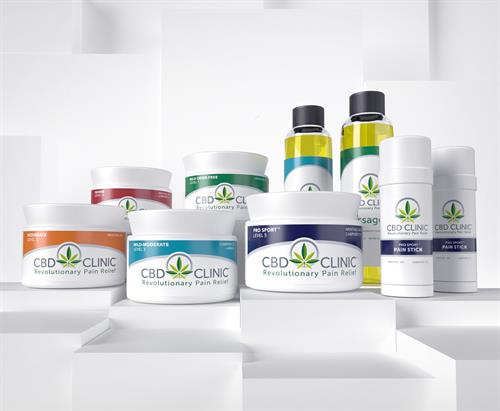 We offer CBD clinic Products