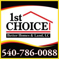 1st Choice Better Homes & Land, LLC