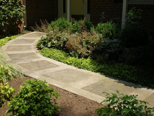 Exterior patios/walkways