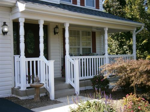Porches/railings/concrete work