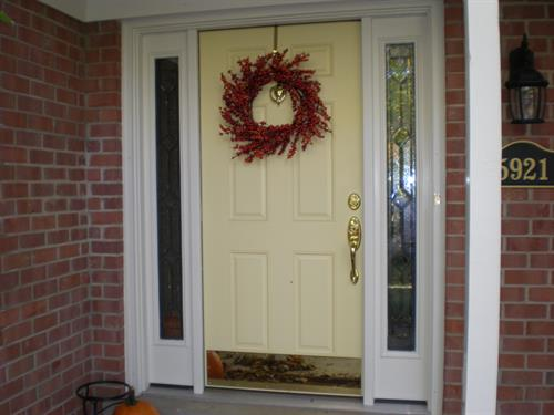 Exterior doors and trim