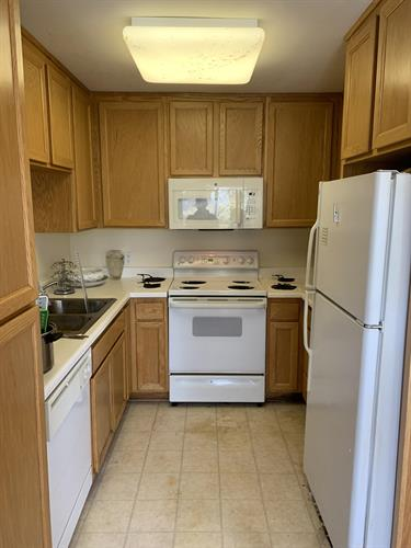 Kitchen Cleanup After