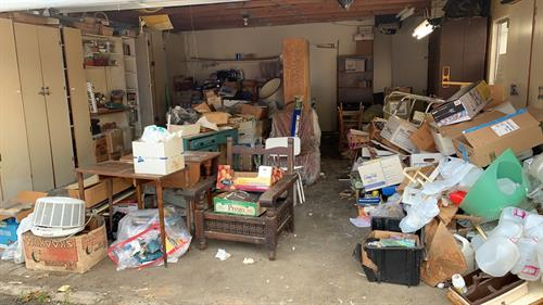 Garage Cleanup Before