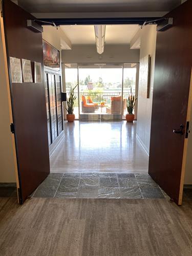 Hallway & Outdoor Deck