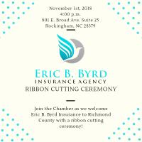 Eric B. Byrd Insurance Agency Ribbon Cutting